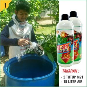 Fermentasi Pupuk Organik m21 decomposer 1