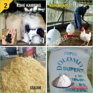 Fermentasi Pupuk Organik m21 decomposer 2