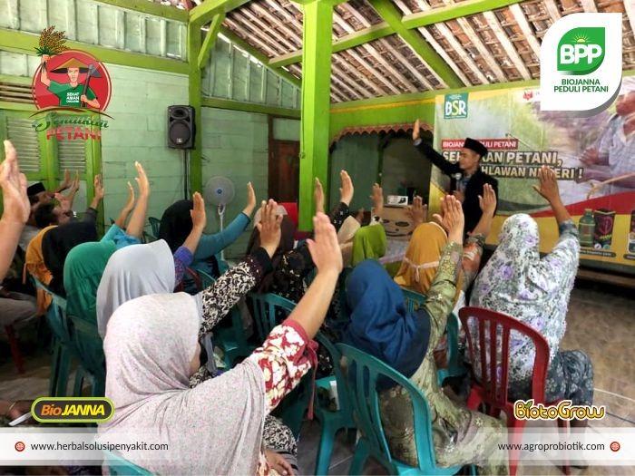 Ust Jamaluddin terapis biojanna peduli petani