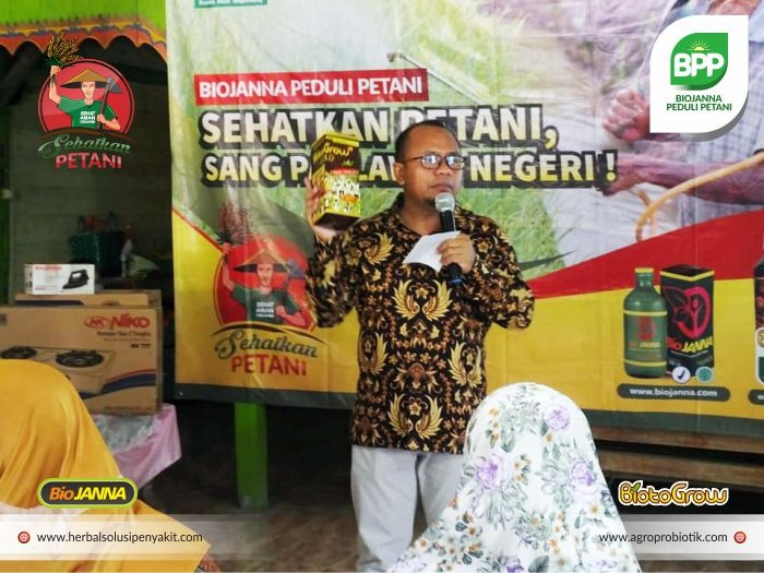 bang Jonet Konsultan Pertanian Probiotik